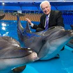 Spezialist für Delphintherapie Prof.Dr. Anatoliy Chuprikov, Foto